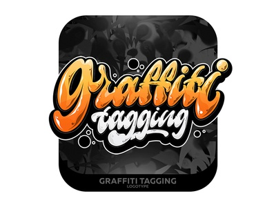 Graffiti tagging Lettering