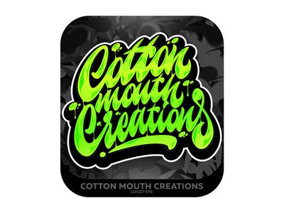 Cotton mouth Creations Lettering