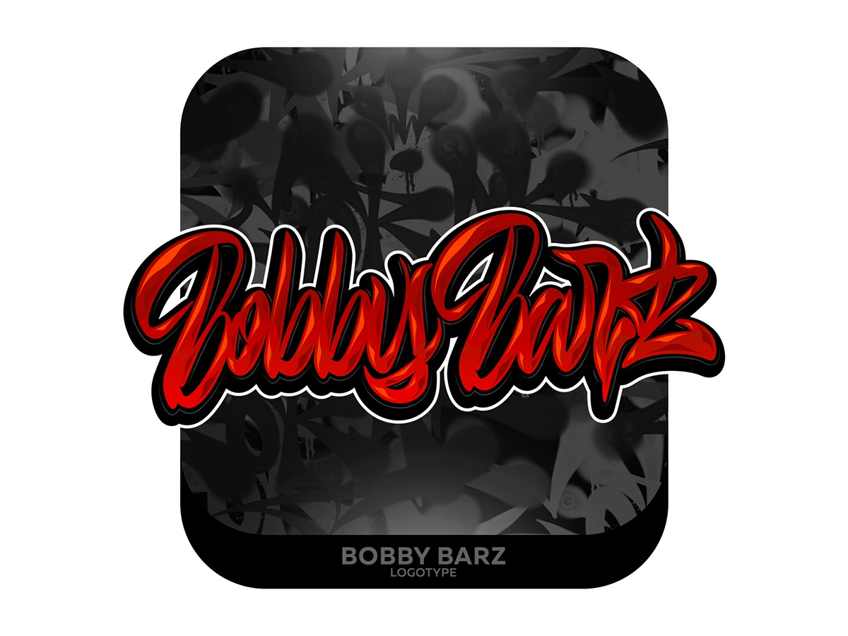 Bobby Barz Lettering type graffiti illustrator branding typography design леттеринг каллиграфия vector logotype logo lettering illustration calligraphy
