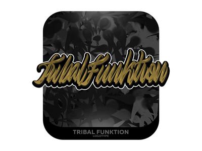 Tribal Funktion Lettering