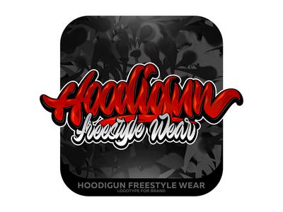 Hoodigun Freestyle Wear Lettering