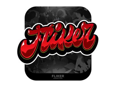 Flicker Lettering