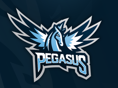 Pegasus Mascot Graphic by Mike - Dribbble