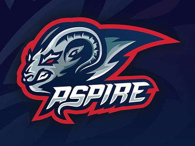"""Aspire"" Client eSports Mascot illustrator sports mascot mascot vector logo vector sports sports logo"