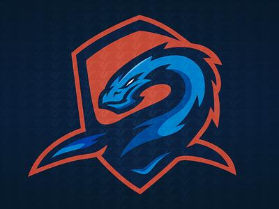 Loch Ness Sports Logo adobe photoshop adobe illustrator esports logo logo sports logo