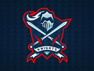 Knight Premade Sports Logo