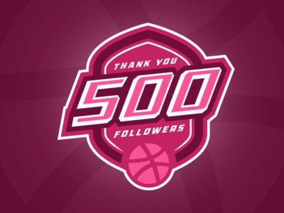 Thanks for 500 Followers <3