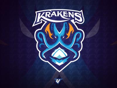 Krakens Premade Logo