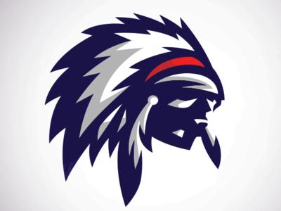Chief Logo adobe design sports logos mascot logo adobe photoshop vector logo esports sports logo illustrator vector esports logo adobe illustrator sports mascot illustration sports logo mascot