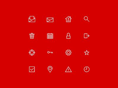 Outline icon set for website vector icon sets icon set userinterfaces user interface design userinterface ui icons ui shop outline menu icon icon set menu icons iconography icon designer icon glyph e-comerce design
