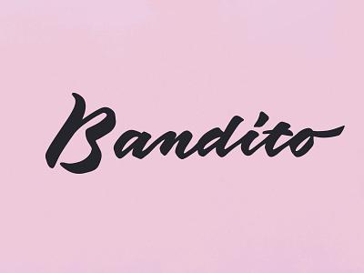 Bandito - logotype typography calligrafia design gin bandito brand design branding brand graphic design graphic logotype logotype designer logotype design logo logodesign calligraphy logotipo logotipos