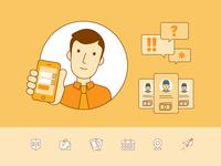 """""""Consumer"""" Icons for Fazland"""