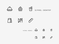 Foorban Menu Icons