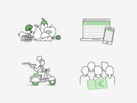 Foorban Illustration - How it works