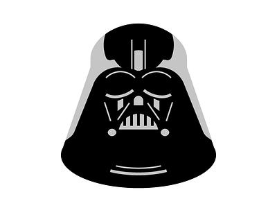 Darth Vader - Star Wars dark side jedi guerre stellari desing visual desing visual ui icon iconadaychallenge iconaday star wars darth vader