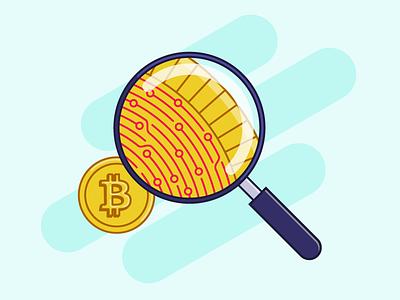 Bitcoin / Cryptocurrencies adobe adobe illustrator vector report outline filled illustrazioni illustrator illustration crypto wallet crypto exchange crypto currency cryptocurrency bitcoin services bitcoins bitcoin exchange bitcoin