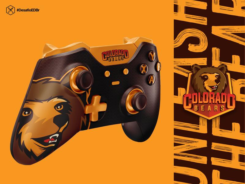 Colorado Bears - Esports Concept esports logo esportlogo logotype esports logo brazil design branding
