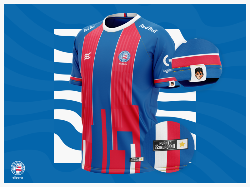 Bahia eSports - Jersey Concept uniform jersey logo brazil logotype esports bahia design branding