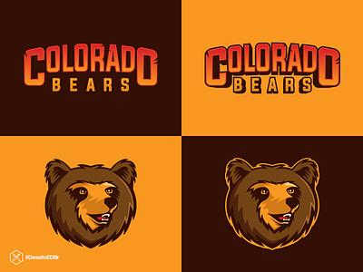 Colorado Bears - Esports Concept esports logotype esports logo esportlogo logo brazil design branding