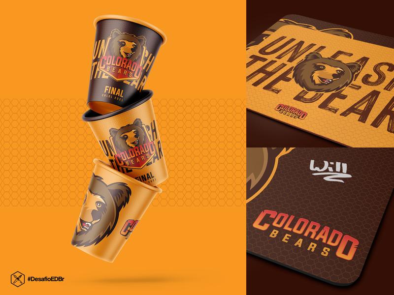 Colorado Bears - Esports Concept brazil esportlogo logotype logo esports logo esports design branding