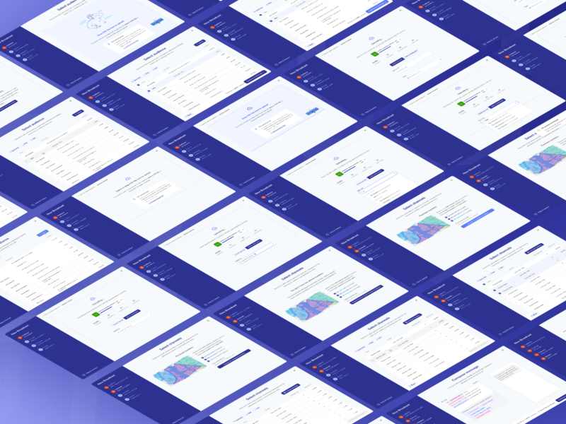 WIP Redesign of Prompt.io's Text Messaging Service modal design modal stepper interaction design product design twilio messaging text message enterprise software enterprise enterprise ux
