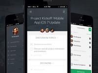 MeetingHero: App Screens