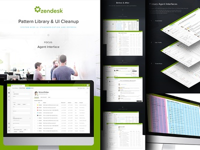 Zendesk Agent UI Update & Pattern Specs zendesk agent desktop customer support pattern navigation form fields tooltip specs