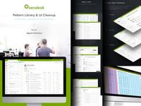 Zendesk Agent UI Update & Pattern Specs