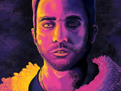 Sufjan Stevens illustration the age of adz indie music music portrait art digital illustration portrait illustration portrait sufjan stevens