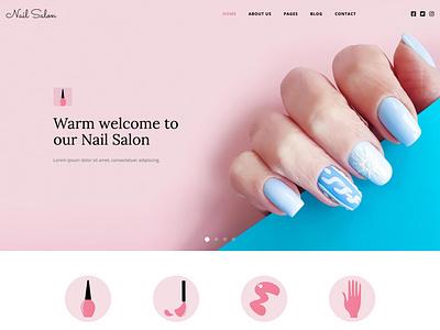 Nail Salon nail salon nails responsive design joomla template template joomla responsive