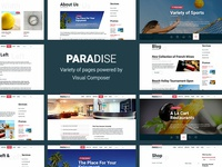 Paradise Travel WordPress Theme