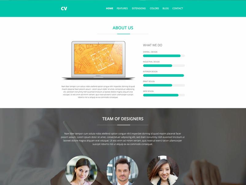 Hot Cv ecommerce cv resume template cv template cv portfolio website portfolio design responsive design joomla template template joomla responsive