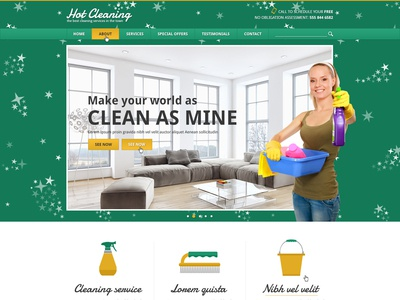Hot Cleaning cleaning services cleaning service cleaning company responsive design joomla template template joomla responsive