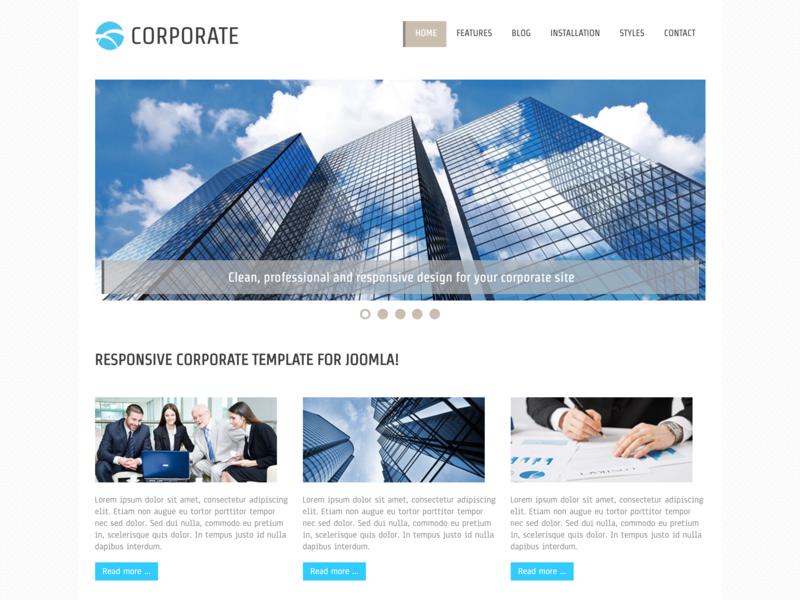 Hot Corporate business website business agency corporate website corporate business corporate branding responsive design joomla template template joomla responsive