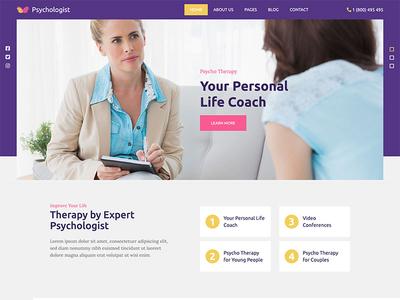 Psychologist psychotherapy psychologist psychology health responsive design joomla template template joomla responsive