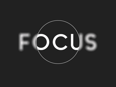"""Focus have arisen extended senses such as """"center of activity."""""""