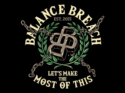 Balance Breach bandmerch tattoo 2d clothing design t-shirt apparel illustration