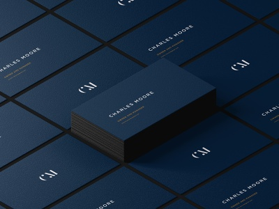 CM business cards visual identity businesscardsdesign businesscards typography branding logotype logo minimalism digitaldesign digitalcreation design graphics graphicdesign