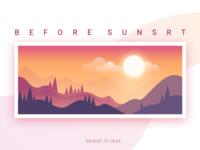 Before Sunsrt