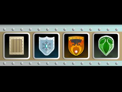 Elemental Shields UI