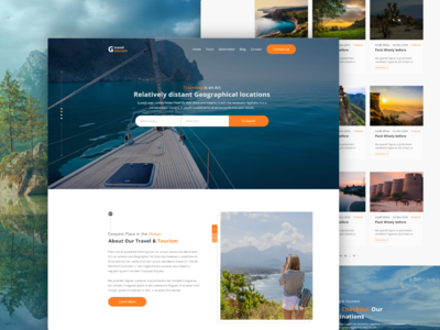 Explore Travel & Tour Web Design