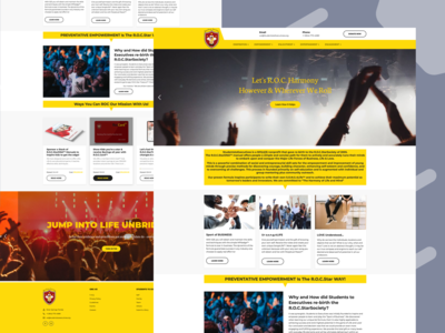 Redesign Students To Executives Website