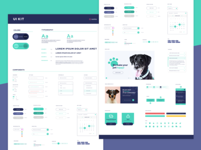 Component Library for a Pet Shop