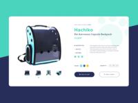 Single Product UI Design | Pet Shop