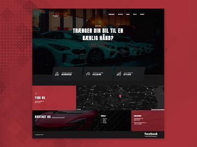 Shin-Bil homepage digital design ux ui carwash website website design design web web design