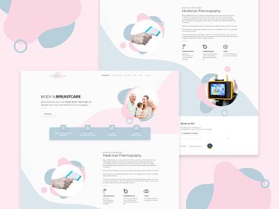 Body & Breastcare branding clinic body breastcare homepage ux ui website design web web design