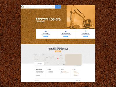 Morten Kosiara: Entrepreneur construction work entrepreneur craftsman ux ui homepage website design web web design