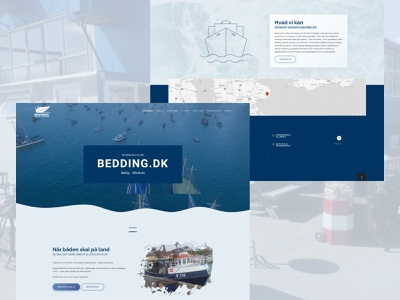 Klintholm Ship Building ship building ship ux ui homepage web development web design development design website web