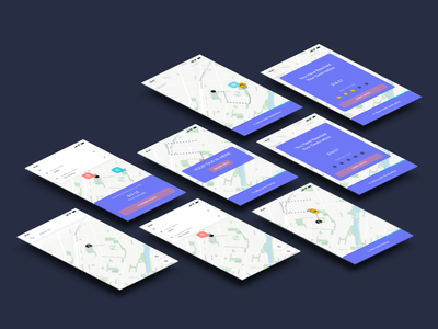 Adobe XD Daily Creative Challenge, Day 4:  Order a taxi app travel taxi prototype ux ui adobe xd