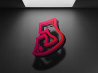 'J' Letter Logo - Self Branding